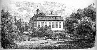 Sorgenfri Palace - Sorgenfri in 1865