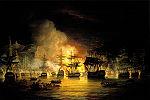 Bombardement d Alger commandé par le britannique Lord Exmouth en août 1816.