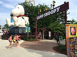 Snoopy Bounce at Cedar Point Camp Snoopy entrance (1572).jpg