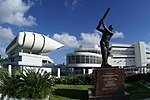 Statue of Sir Gary Sobers (Kensington Oval, B'dos)