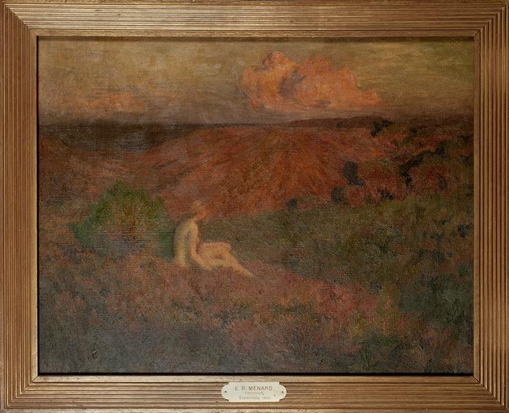 Solitude (Émile René Ménard) - Nationalmuseum - 18521