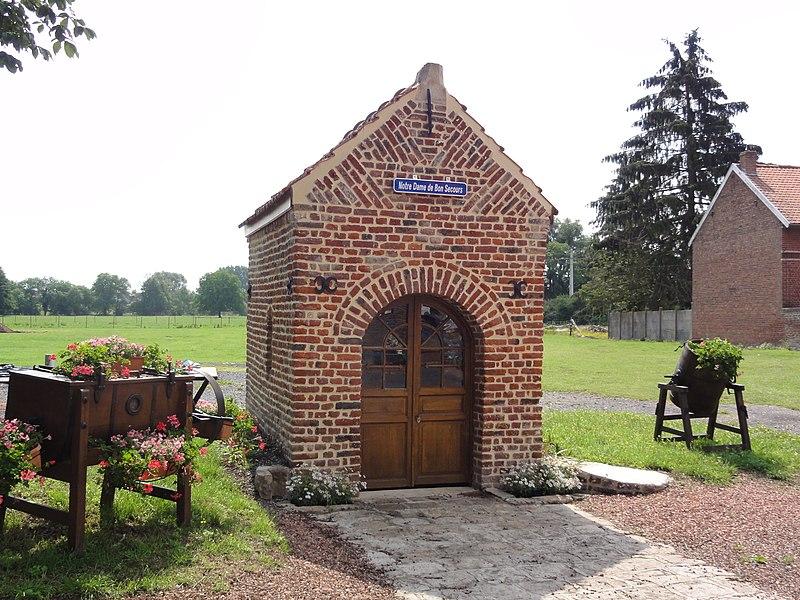 Sommaing (Nord, Fr) chapelle Notre-Dame de Bon Secours