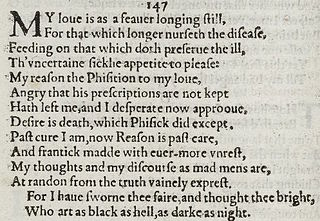 Sonnet 147 poem by William Shakespeare