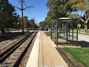 Southington (Green Line) Rapid Station October 2015.JPG