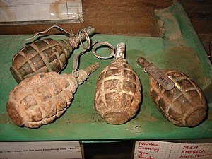 Soviet F1 Hand Grenades.