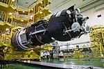 Soyuz MS-12 spacecraft in the integration facility (3).jpg