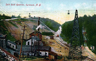 Solvay Process Company - Solvay Cable Road - 1910