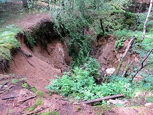 Spodnje Gorje - Image: Spodnje Gorje Slovenia Meadow Shaft 1 Mass Grave