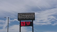 Springfield High School Tennessee sign.jpg