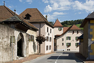 Saint-Maurice, Switzerland - Image: St Maurice Strasse