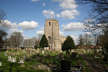 St.Guthlac's church, Fishtoft - geograph.org.uk - 147445