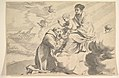 St. Francis of Assisi Adoring the Christ Child on the Virgin's Lap MET DP822276.jpg