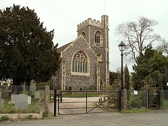 Havering-atte-Bower - Image: St. John the Evangelist, the parish church of Havering atte Bower geograph.org.uk 731608