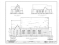 St. Luke's Episcopal Church, (Moved from Cahaba, AL), Martin, Dallas County, AL HABS ALA,24-MART,1- (sheet 3 of 6).png