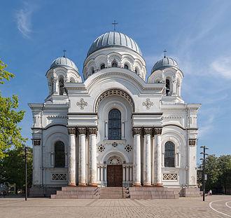 St. Michael the Archangel Church, Kaunas - Image: St. Michael the Archangel Church 1, Kaunas, Lithuania Diliff