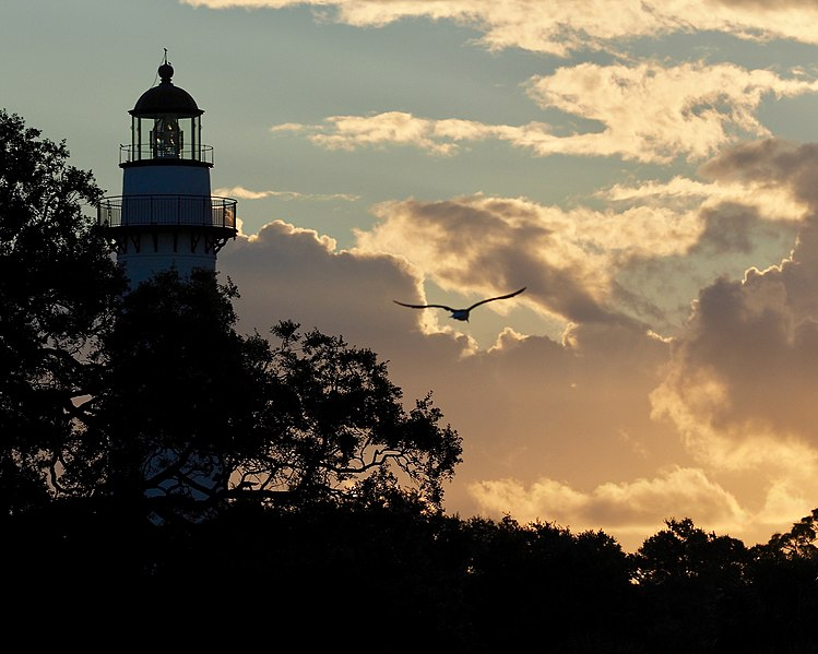 File:St. Simons Lighthouse, GA.jpg