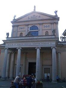 La chiesa parrocchiale di San Giorgio a Cuggiono