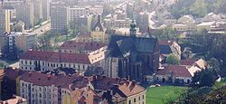 Le monast�re Saint-Thomas, � Brno