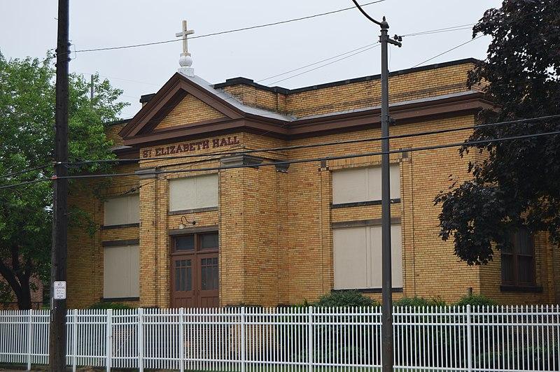 File:St Elizabeth of Hungary parish hall on Buckeye Road.jpg