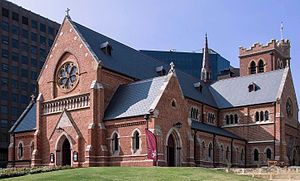 St George's Cathedral, Perth - Image: St George's Cathedral, view form the south west