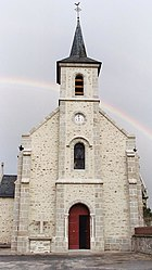 The church in Saint-Junien-les-Combes