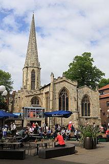 St Marys Church, Castlegate, York Church in York, England