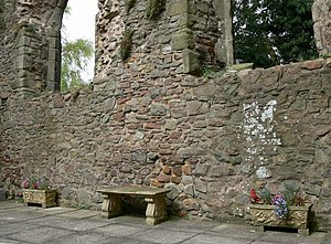 Elmesthorpe - Inside the ruined section of Elmesthorpe Church