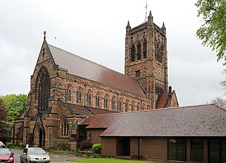 Church of St Matthew and St James, Mossley Hill Church in Liverpool, England