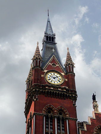 The clock tower St Pancras Clock.jpg