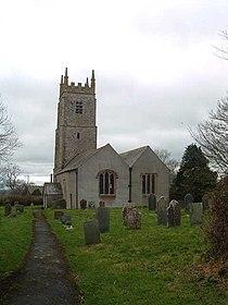 St Peter's Church, Dowland - geograph.org.uk - 71789.jpg