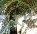 St Peter's Holy Well, Houston, Renfrewshire - detail of the internal stonework.jpg