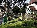 St Thomas Bedhampton, churchyard - geograph.org.uk - 1174743.jpg
