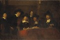 Staalmeesters. After Rembrandt (Ernst Josephson) - Nationalmuseum - 21713.tif