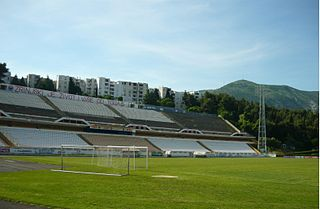 Stadion pod Bijelim Brijegom football stadium