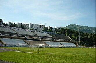 Stadion pod Bijelim Brijegom - Image: Stadion HŠK Zrinjski