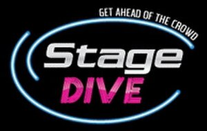 Stage dive (company) - Image: Stage Dive Logo