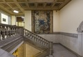 Stairwell at the William H. Welch Medical Library, the library of the Johns Hopkins Hospital in Baltimore, Maryland LCCN2013650462.tif