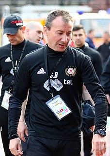 Stamen Belchev Bulgarian association football player