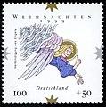 Stamp Germany 1999 MiNr2084 Weihnachten I.jpg