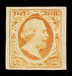Stamps of the Netherlands NVPH 0003.jpg