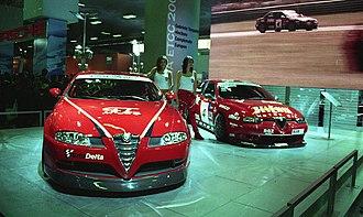 Bologna Motor Show - Alfa Romeo GT at the 2003 Bologna Motor Show.