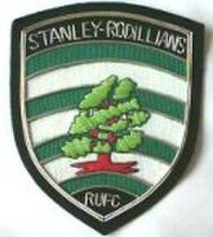 Stanley, West Yorkshire - Rodillians RUFC blazer badge
