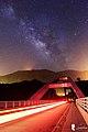 Starry sky over Baling Bridge, taken by Steven Weng.jpg