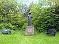Statue in Duke's Wood - geograph.org.uk - 439235.jpg