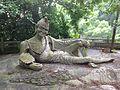 Statue of Ji Gong, the Monk, in Wanzai Zhuxian Cave Park - Zhuhai, China.JPG