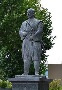 Statue of Tsukahara Bokuden