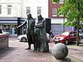 Statues at Waterloo Place, Derry - Londonderry - geograph.org.uk - 174236.jpg