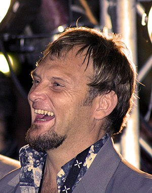 South African musician and actor Steve Hofmeyr...