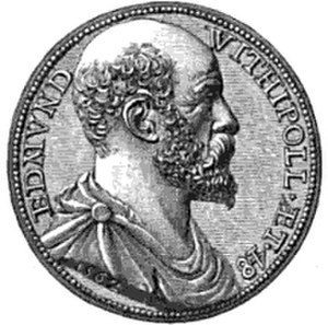 Edmund Withypoll - Second portrait of Withypoll from Herwijk's medallion of 1562.