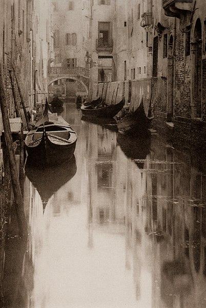 File:Stieglitz-Venetian Canal.jpg